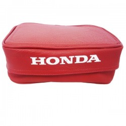 HONDA XR GENUINE LEATHER REAR FENDER BAG RED OEM REPLICA