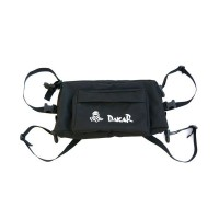 DAKAR RACING FRONT HEADLIGHT BAG BLACK NYLON