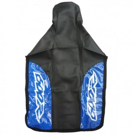 HONDA SEAT COVER BLACK 600R BLUE