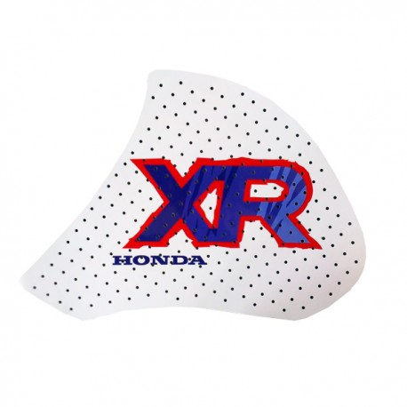 HONDA TANK DECALS XR600R WHITE