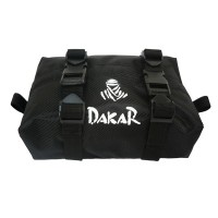 DAKAR RACING REAR FENDER BAG BLACK FAT NYLON