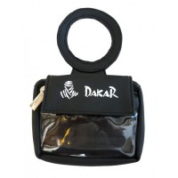 DAKAR RACING GAS TANK POCKET WALLET BLACK
