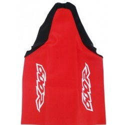 HONDA XR600R SEAT COVER RED BLACK MOD2