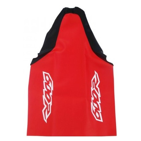 HONDA SEAT COVER RED BLACK MOD2