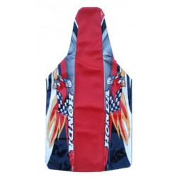 HONDA SEAT COVER RED WOODY